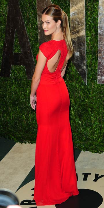 Rosie Huntington-Whiteley | Vanity Fair Oscar Partido 2012 | Fotos | Fotos | Novo | Celebrity Notícias