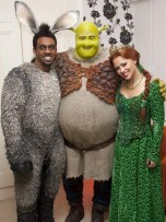 Richard Blackwood, Dean Chisnall and Kimberley Walsh | Shrek Cast Change | Pictures | Photos | New | Celebrity News