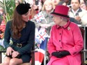 Kate Middleton wears high street dress for Diamond Jubilee visit to Leicester with the Queen