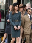 PICTURES High street queen Kate Middleton visits Leicester with Wills' gran