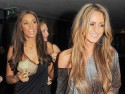 The Saturdays party with TV stars in London for Rochelle Wiseman's birthday