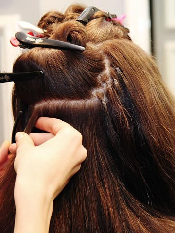 rings hair extensions | Hair extensions | Pictures | Photos | New ...