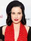 Dita Von Teese hooks up with Theo Hutchcraft 