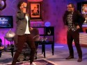 One Direction challenged to a dance off by Alan Carr on TV show Chatty Man 