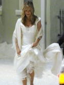 Forget about Angelina Jolie, what wedding dress will Jennifer Aniston wear?