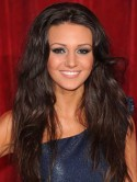 Michelle Keegan wears sexy au naturel hair to The British Soap Awards