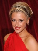 Celebrity hair up - the best up-dos of 2012