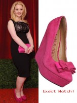 Lorna Fitzgerald | Top 10 British Soap Awards 2012 shoes | Pictures | Now Magazine | Celebrity Gossip | Fashion | News | Photos