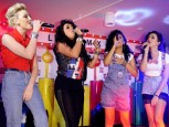 Little Mix | M&amp;M World performance | Pictures | Photos | New | Celebrity News