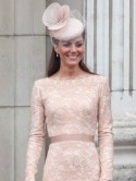 Kate Middleton wows in nude lace dress at Queen's Diamond Jubilee thanksgiving service