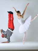 When b-boys meet ballet girls�