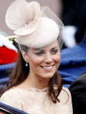 Kate Middleton teams nude lips with St Tropez tan for Diamond Jubilee