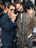 Tom Cruise and Russell Brand hit Rock Of Ages film premiere in London