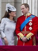 Kate Middleton shines in silver dress at Trooping The Colour parade