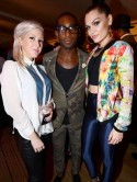 Jessie J joins stars at new fashion event in London
