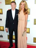 Newlyweds Cat Deeley and Patrick Kielty enjoy romantic boat ride on honeymoon in Venice