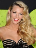 Blake Lively's nude beaded gown is classic old Hollywood at Savages premiere
