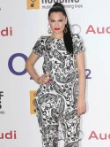 Jessie J wears sexy sleek hairstyle as she joins A-list stars at O2 Silver Clef Awards 2012 in London