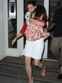 Katie Holmes treats daughter Suri to ice cream after Tom Cruise split