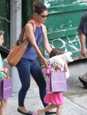 Katie Holmes enjoys another girls' outing with Suri after announcing plans to divorce Tom Cruise
