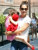 SHOCK! Katie Holmes and Suri Cruise 'involved in car crash' in New York