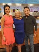 Melanie Sykes, Kerry Katona and Gino D'Acampo | Let's Do Lunch With Gino And Mel | Pictures | Photos | New | Celebrity News