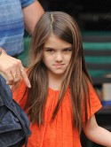 Suri Cruise has a tantrum when mum Katie Holmes refuses to buy her a puppy in New York