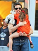 Tom Cruise spends time with daughter Suri for first time since Katie Holmes divorce settlement