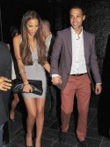 Rochelle Wiseman parties with fianc� Marvin Humes before wedding