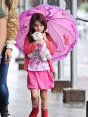 OMG! Look at how cute Suri Cruise is
