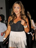 Lauren Goodger, put those bad boys down!