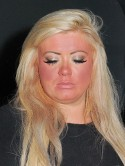 Oops! TOWIE's Gemma Collins goes blusher bonkers