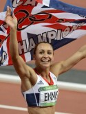 Olympic golden girl Jessica Ennis: I want to look nice for myself so that I feel confident