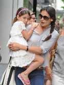 Suri Cruise visits New York museum with Katie Holmes after trip to Disneyland with dad Tom Cruise