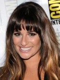 Glee star Lea Michele's tan-on-tan tones