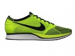 Nike Flyknit Racer Running Shoe | Neon Trainers | Pictures | Photos | new | Celebrity News
