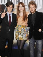 Matt Smith joins Doctor Who co-stars in London for preview screening of new episode