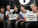 One Direction dress down for interview at Radio 1 in London