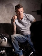 David Beckham shares sexy behind-the-scenes snaps from new perfume campaign