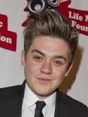 HAIR SHOCK! Frankie Cocozza shows off Jedward blond quiff and vows to stop 'playing around' with girls