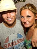 TOWIE girl Sam Faiers parties in Ibiza with boyfriend Joey Essex and sister Billie