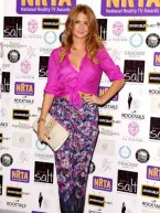 Made In Chelsea girls dress up for National Reality TV Awards 2012 in London