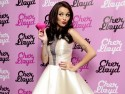 Cher Lloyd wears pretty cream dress to launch new perfume Pink Diamond in London