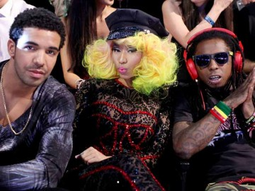 Lil Wayne And Drake And Nicki Minaj lil wayne and drake and nicki