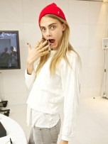 Cara Delevingne | London Fashion Week 2012 | Pictures | Photos | Celebrity Fashion