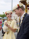 Kate Middleton and Prince William celebrate in South Pacific after topless pictures court battle win - but photos could still be printed again