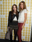 Made In Chelsea girls Millie Mackintosh and Rosie Fortescue party together at Prince Harry's favourite London club