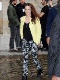 Twilight love cheat Kristen Stewart is all smiles at Paris Fashion Week after reunion talks with ex Robert Pattinson