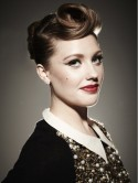 Get X Factor star Ella Henderson's signature victory roll hair 