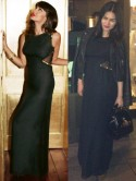 Friday Fashion Celebrity Match: We're wearing Jameela Jamil's LBD with a Topshop biker jacket